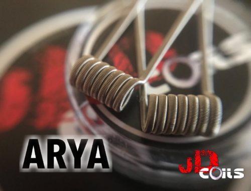 Jd coils, Arya, resistencias artesanales,