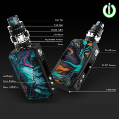 voopoo drag kit, voopoo drag resin, ijoy captain pd270,