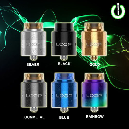 geekvape loop rda, drop rda, nudge rda,